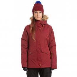 Dámská Snowboardová bunda Meatfly Athena  19/20 H - Merlot Stripe