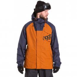 Pánská Snowboardová bunda Nugget ROVER  19/20 B - Rust Ripstop, Navy Heather