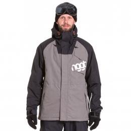 Pánská Snowboardová bunda Nugget ROVER  19/20 C - Grey Ripstop, Black