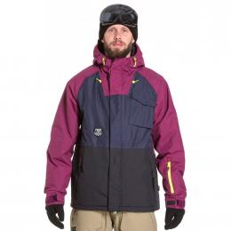 Pánská Snowboardová bunda Nugget ROVER  19/20 G - Navy Heather, Purple Black