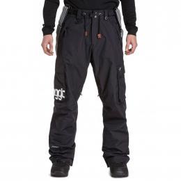 Pánské kalhoty na snowboard Dustoff 5 19/20 A - Black
