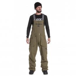 Zimní kalhoty na snowboard Nugget Cangur 19/20 B - Olive Ripstop