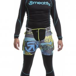 chránič kostrče Meatfly Norris 3 Shorts 19/20 C - Blue Green