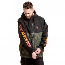 podzimní streetová bunda Nugget Scope 2020 C - Black, Oak Olive