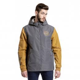 podzimní streetová bunda Meatfly Finn 3 2020 D - Grey, Wood