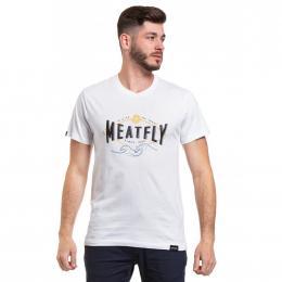 Pánské  Tričko Meatfly Windy 2020 A - White