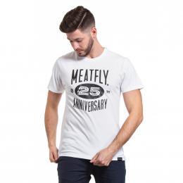 Pánské Tričko Meatfly 25TH 2020 C - White