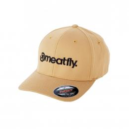 Kšiltovka Meatfly Brand Flexfit 2020 I  - Curry