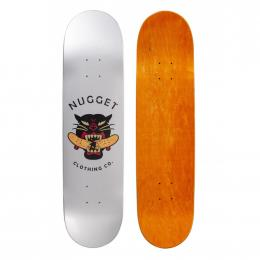 skate deska Nugget Black Panther 2020 high concave silver