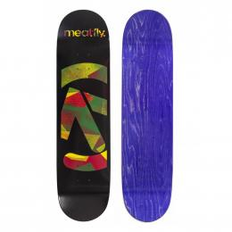 skate deska Meatfly Netto 2020 medium concave black rasta