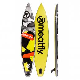 paddleboard Meatfly Zoom 2020 A-Lime, Black 12,6""