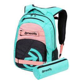 batoh Meatfly Exile 5 Backpack 24L 2021 G Heather Mint, Pink