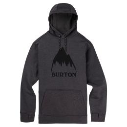 pánská mikina Burton Oak Pullover 20/21 true black heather