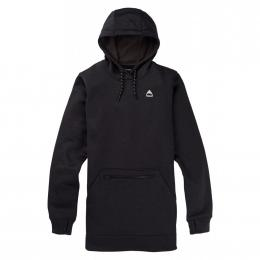 dámská mikina Burton Oak Long Pullover Hoodie 20/21 true black heather