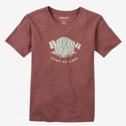dámské triko Burton Ashmore 20/21 rose brown