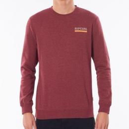 Mikina Rip Curl Surf Revival Crew 20/21 Burgundy