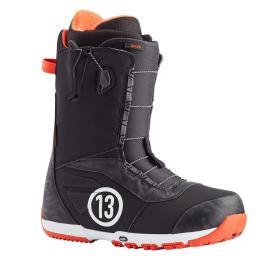 boty na snowboard Burton Ruler Speedzone 20/21 black/red