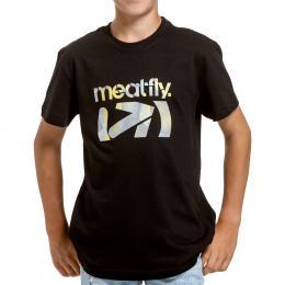 Tričko Meatfly Moe 20/21 Black