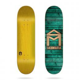 skate deska Sk8 Mafia House Logo Wood 2020 8,0