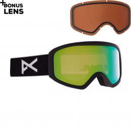 brýle na lyže/snowboard Anon Insight 20/21 frame: black, lens: perceive variable green