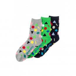 Ponožky Meatfly Multi Shape socks 2020 S18