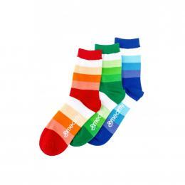 Ponožky Meatfly Stripes Shades 2020 S17