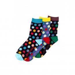 Ponožky Meatfly Dark Regular Dots 2020 S16