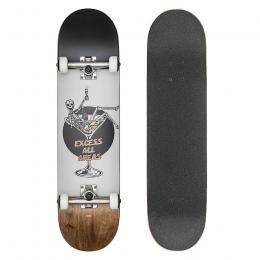 skateboard Globe G1 Excess 2021 White/Brown