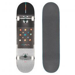 skateboard Globe G1 Nine Dot Four 2021 Black White 8,0