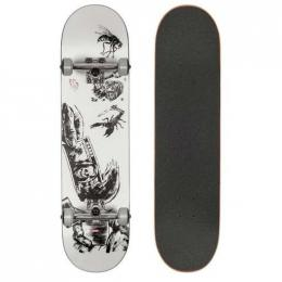 skateboard G1 Hard Luck 2021 White/Black 8,0