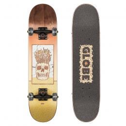 skateboard Globe Celestial Growth Mini 2021 Brown 7,0