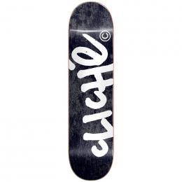 skate deska Cliche Handwritten 2021 Black 8,25