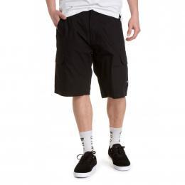 pánské šortky Nugget Genius Cargo Shorts 2021 Black Ripstop