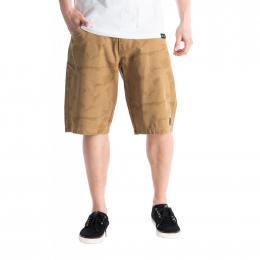 pánské šortky Meatfly Bobber Shorts 2021 Infinity Camo Dark Sand
