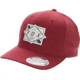 kšiltovka Fox Burnt Flexfit Hat 2021 Chilli