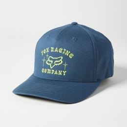 kšiltovka Fox La Neta Flexfit Hat 2021 Dark Indigo