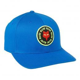 kšiltovka Fox Mawlr Flexfit Hat 2021 Royal Blue