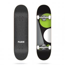 skateboard komplet Plan B Macro 2021 Black 8,25
