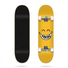 skateboard komplet Tricks Smiley 2021 Yellow 7,375