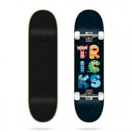 skateboard komplet Tricks Monsters 2021 Black 7,25