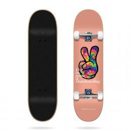 skateboard komplet Tricks Peace 2021 Salmon 7,75