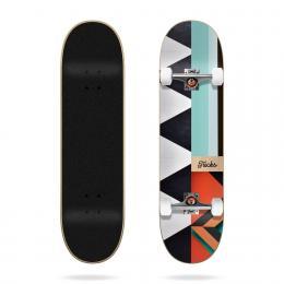 skateboard komplet Tricks Pattern 2021 White black 7,87