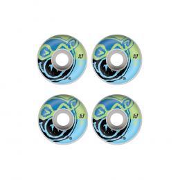 skate kola Pig Split wheels 2020 White blue