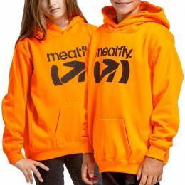 Dětská mikina Meatfly Rebel Pyke 2021 Electric Orange