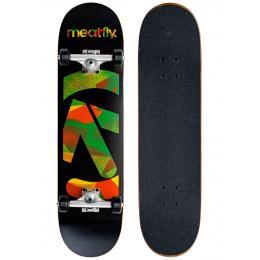 skateboard komplet Meatfly Netto SK8 Complet 2021 Black Rasta