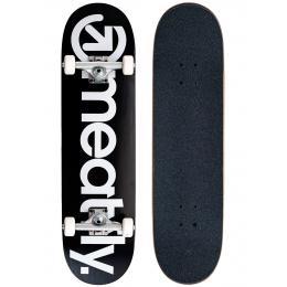 skateboard komplet Meatfly MF Brand Logo SK8 Complet 2021 Black/White