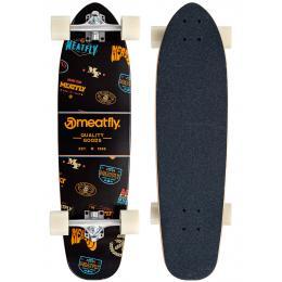 longboard Meatfly Emblem Cruiser 21/22 Black