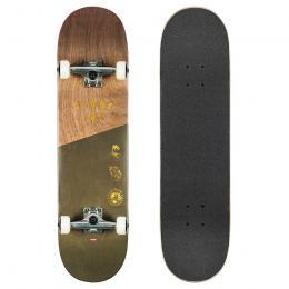 skateboard komplet Globe G1 Insignia 2021 Dark Maple Green 8,25