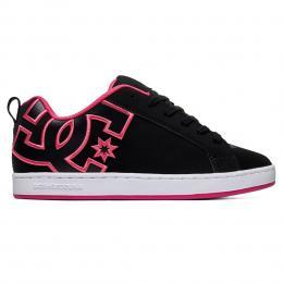 Dámské Boty DC Shoes Court Graffik 21/22 Black/Black/Pink