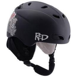 helma R.E.D. Buzzcap kids matte black